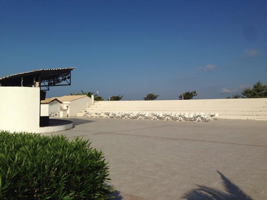 Aquis Sandy Beach Resort: Amphitheatre - where some of the evening shows are held