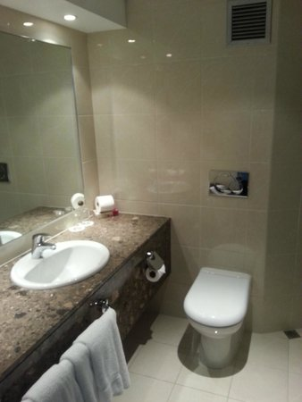 Copthorne Hotel Palmerston North: Bathroom.