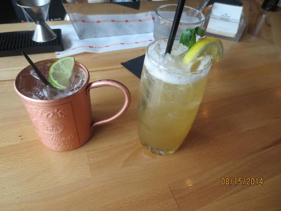 40 Paper: Moscow mule & pesca