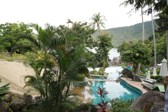 Panviman Resort - Koh Pha Ngan: Stepped Pools