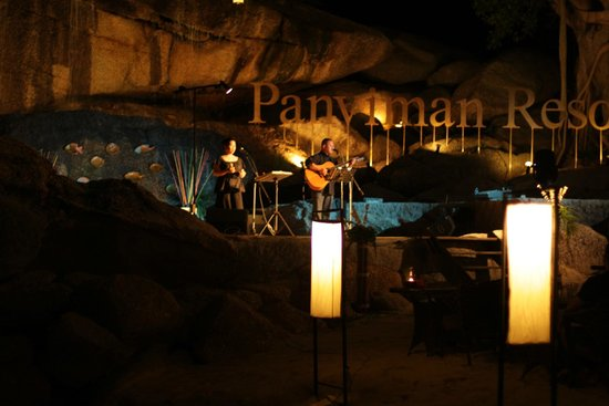 Panviman Resort - Koh Pha Ngan: Beach Restaurant Live Music