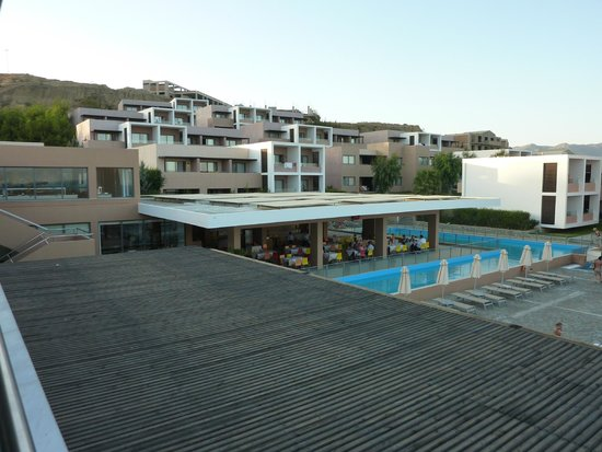 Atlantica Mikri Poli Kos: View from Restaurant