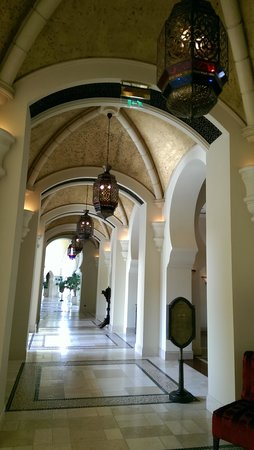 Arabian Court at One&Only Royal Mirage Dubai: arabian lights