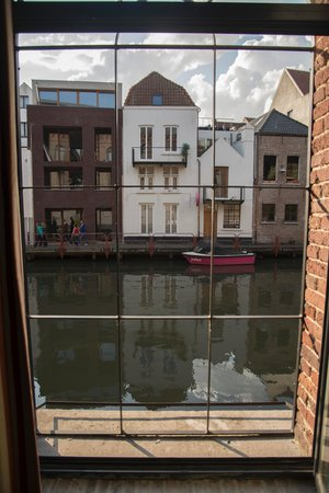 Ghent River Hotel: view from the window