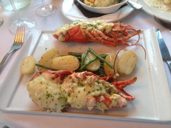 Oxo's Restaurant: lovely lobster