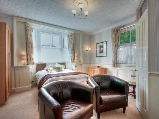 Brooklands Lodge: Double en-suite room