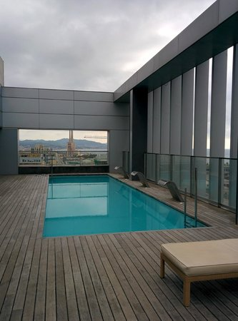 Hotel SB Diagonal Zero : Swimming Pool