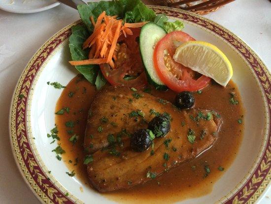 Alvaro's Portuguese Restaurant: Tuna starter