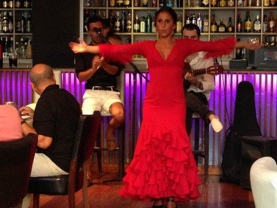 Restaurante Vino Mio: Flamenco live
