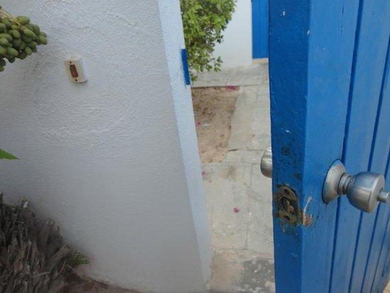 Club Marmara Yasmine: la porte qui se ferme pas