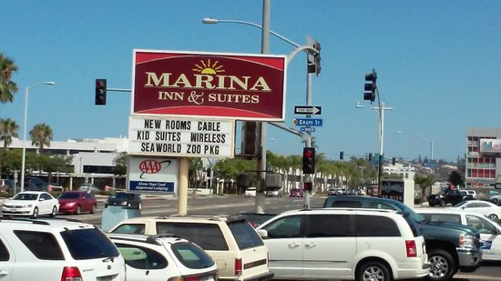 Marina Inn and  Suites: view from the window
