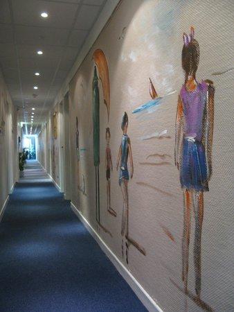Les Gens de Mer : le couloir peint