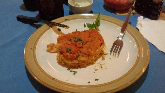 Da Gio' Lamai Beach Restaurant : Lasagne