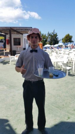 Presidente Hotel: Friendly hotel staff always up for a laugh