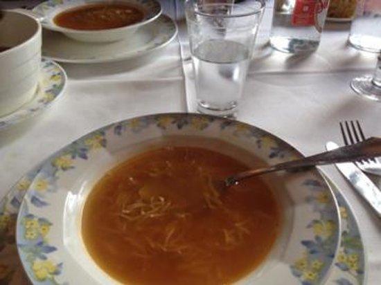 Restaurante del Hotel del Oso : Sopa de cocido