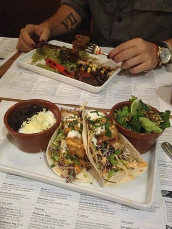 Wahaca White City: steak mexican style