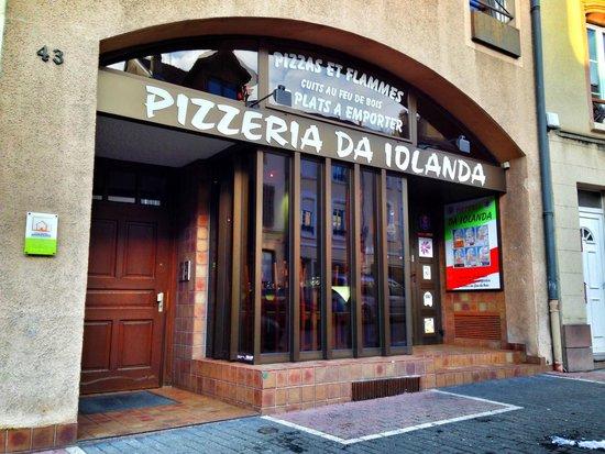 Pizzeria Da Iolanda : Façade de l'établissement