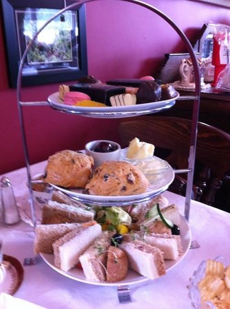Healey Dell Heritage Centre and Tea Rooms: Afternoon tea