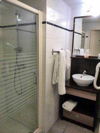 Appart'City Chalon sur Saone: Douche et lavabo