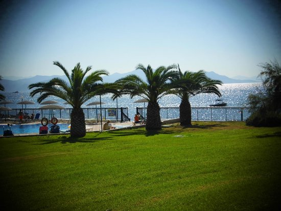 Corfu Sea Gardens: view