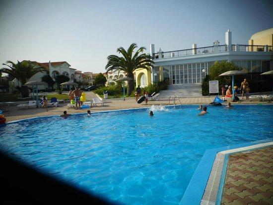 Corfu Sea Gardens: view