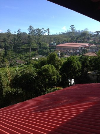 Tea Hill's Bungalow: View from the balcony