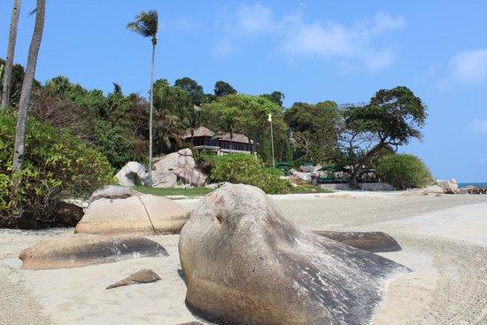 Banyan Tree Bintan : Вид с пляжа