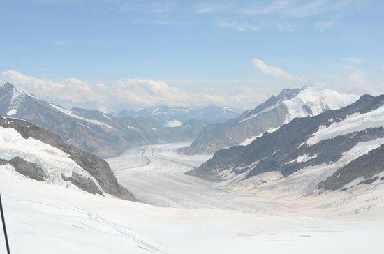 Eiger Guesthouse: Aletschgletscher/Jungfraujoch