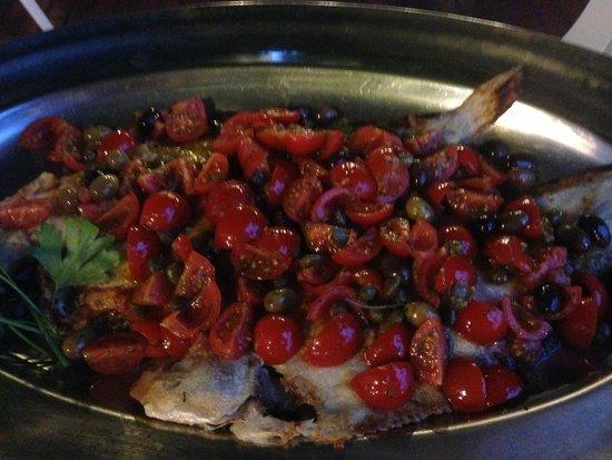 Royal Hotel Sanremo: Sole Tomates Cerises Poellées un délice