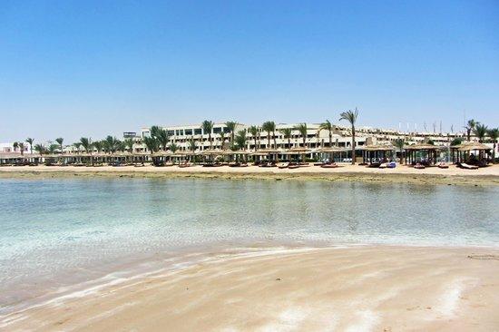 Coral Sea Sensatori - Sharm El Sheikh: Hotel from the sea :-)