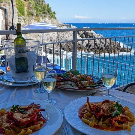 Torre Normanna Restaurant : Il nostro pranzo