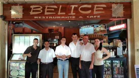 Restaurante Belice: The brilliant staff & owner of Belice
