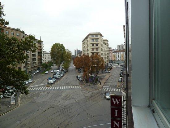 Windsor Hotel Milano: Вид из окна