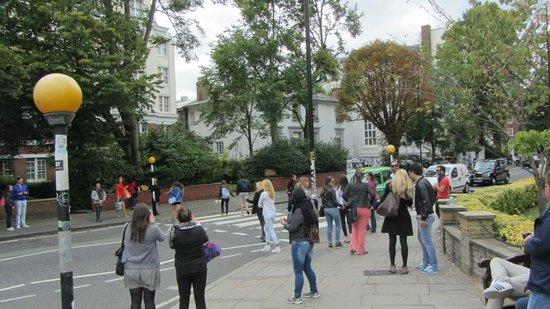 Abbey Road: we all love the zebra crossing
