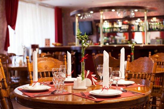 Hotel AlexanderPlatz: Restaurant