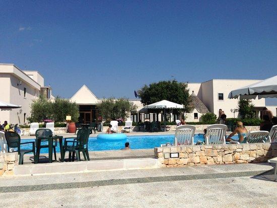 Ramapendula Hotel: vista piscina