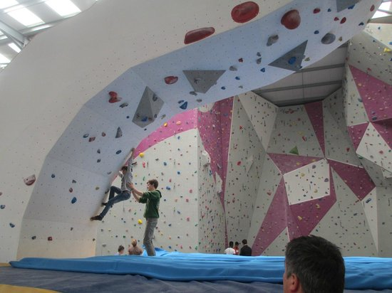 Psicobloc Wall Picture Of The Boardroom Climbing