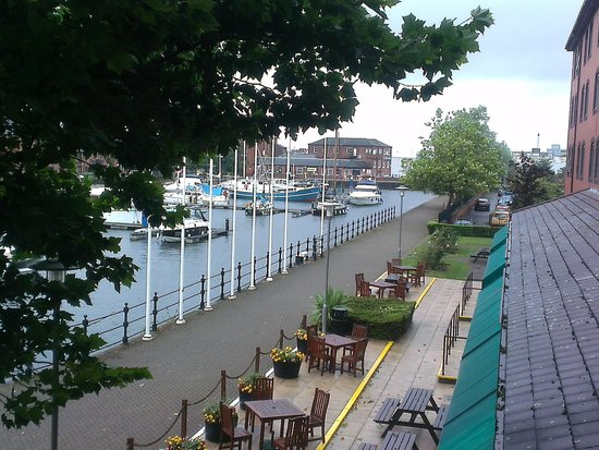 Holiday Inn Hull Marina: Room with a view
