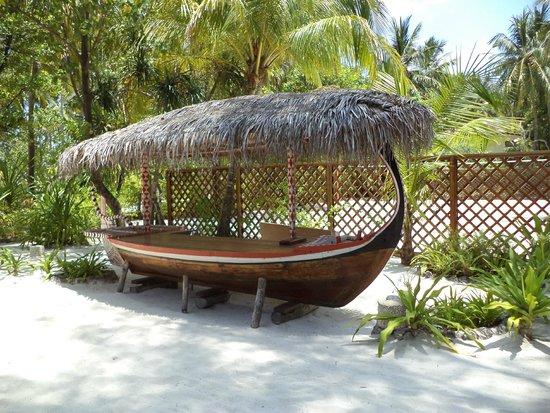 VOI Maayafushi Resort: area del ristorante