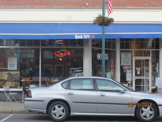 Rock City Cafe: entrance