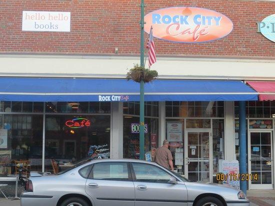 Rock City Cafe: exterior