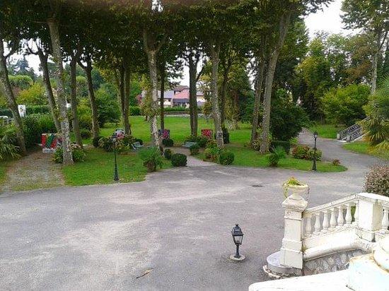 Hôtel du Parc : le parc
