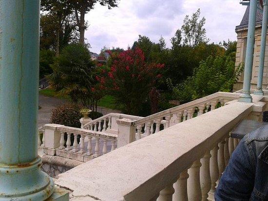 Hôtel du Parc : vue  sur le parc