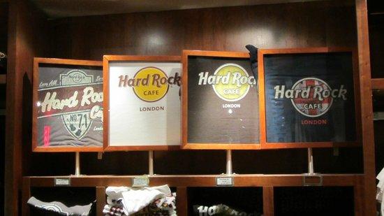 t shirts picture of hard rock cafe london london tripadvisor. Black Bedroom Furniture Sets. Home Design Ideas