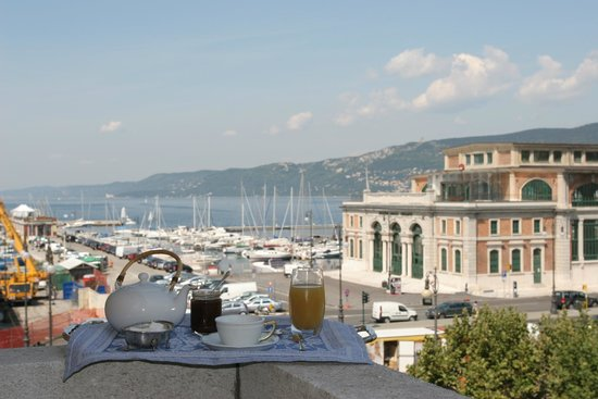 Ai Moretti: Panorama dal terrazzo
