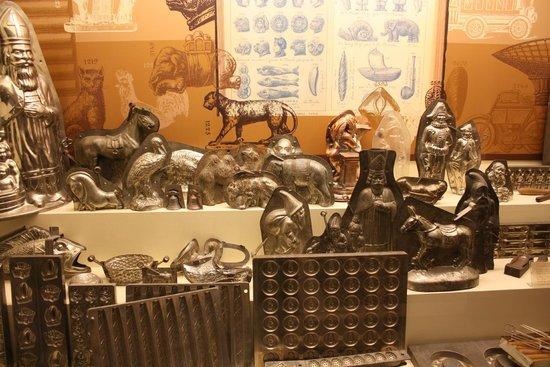 Choco-Story - The Chocolate Museum: stampi
