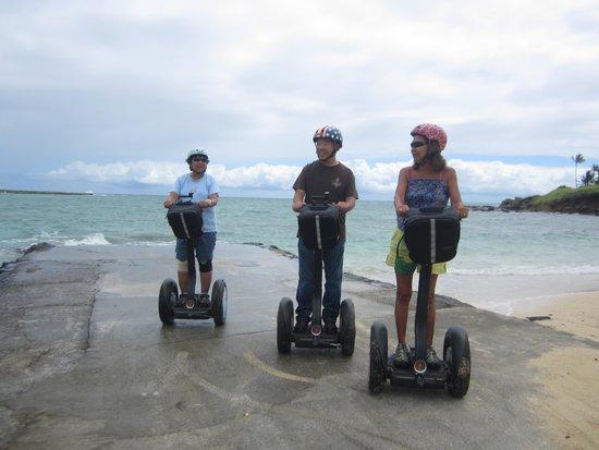 Segway of Hawaii- Kailua : Beachy fun