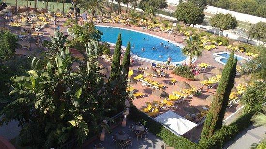 Fuengirola Beach Aparthotel: view