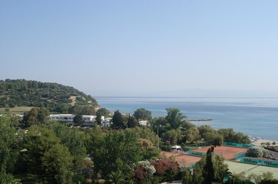 Pallini Beach Hotel: view from room