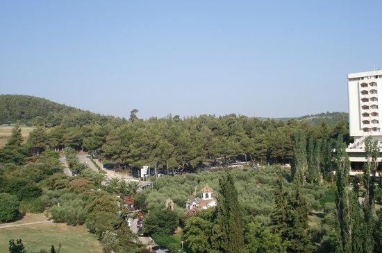 Pallini Beach Hotel: view